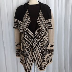 FLYING TOMATO Aztec CARDIGAN